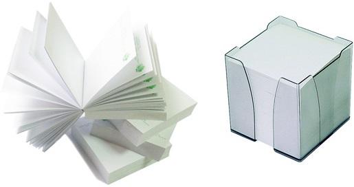Блоки бумажные для записей