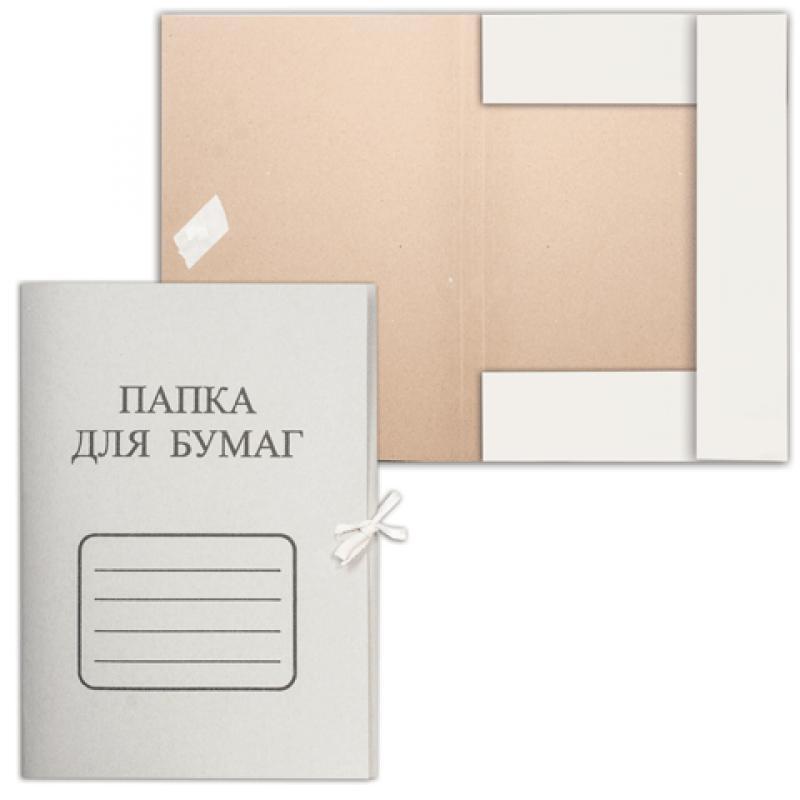 Папки картонные с завязками