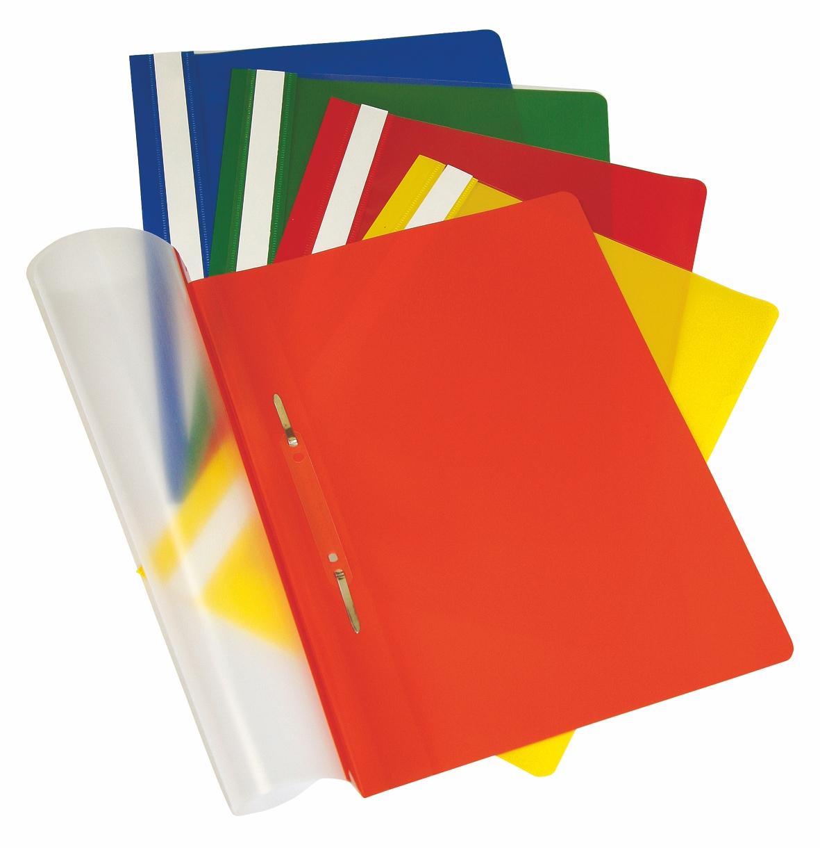 Папки скорошиватели пластиковые с прозрачным верхом