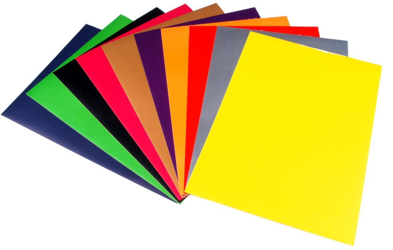 Бумага цветная / картон