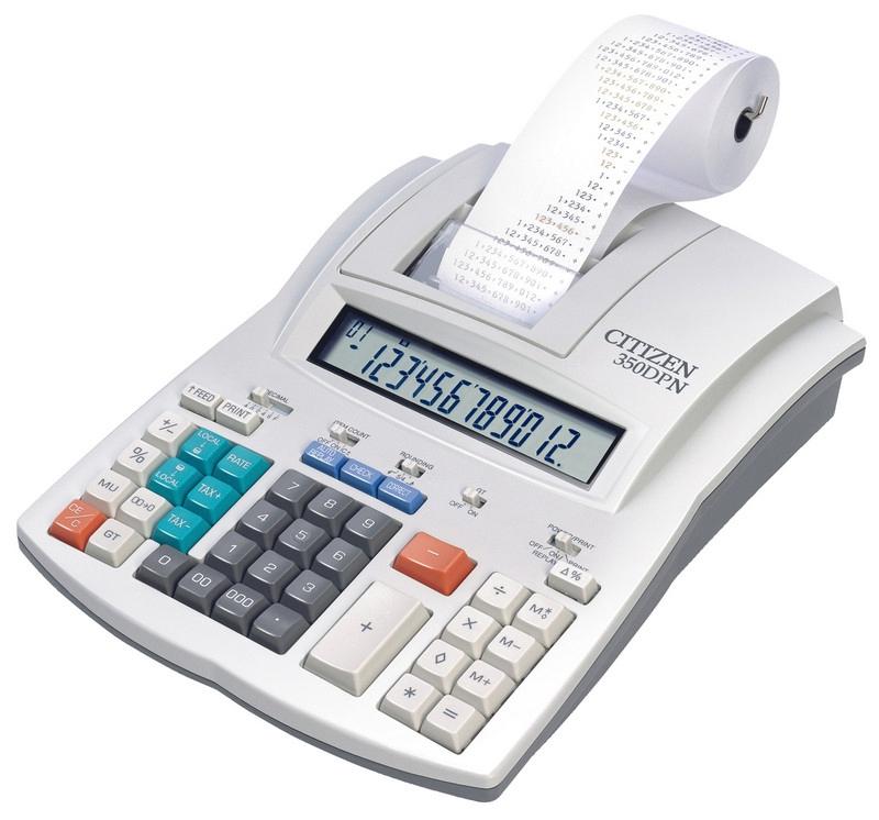 Калькуляторы с печатью / расходные материалы к ним