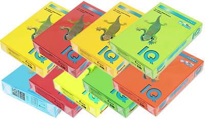Бумага цветная a4 intensive