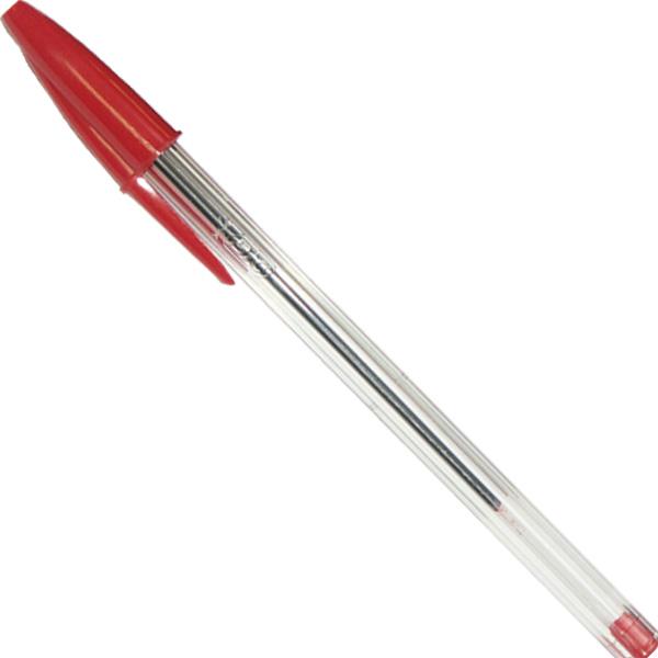 Ручки шариковые красные