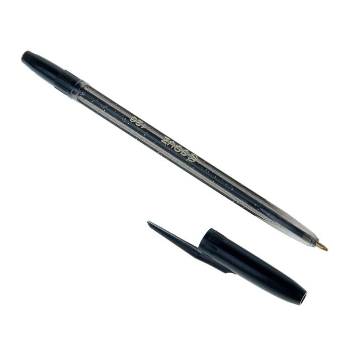 Ручки шариковые черные