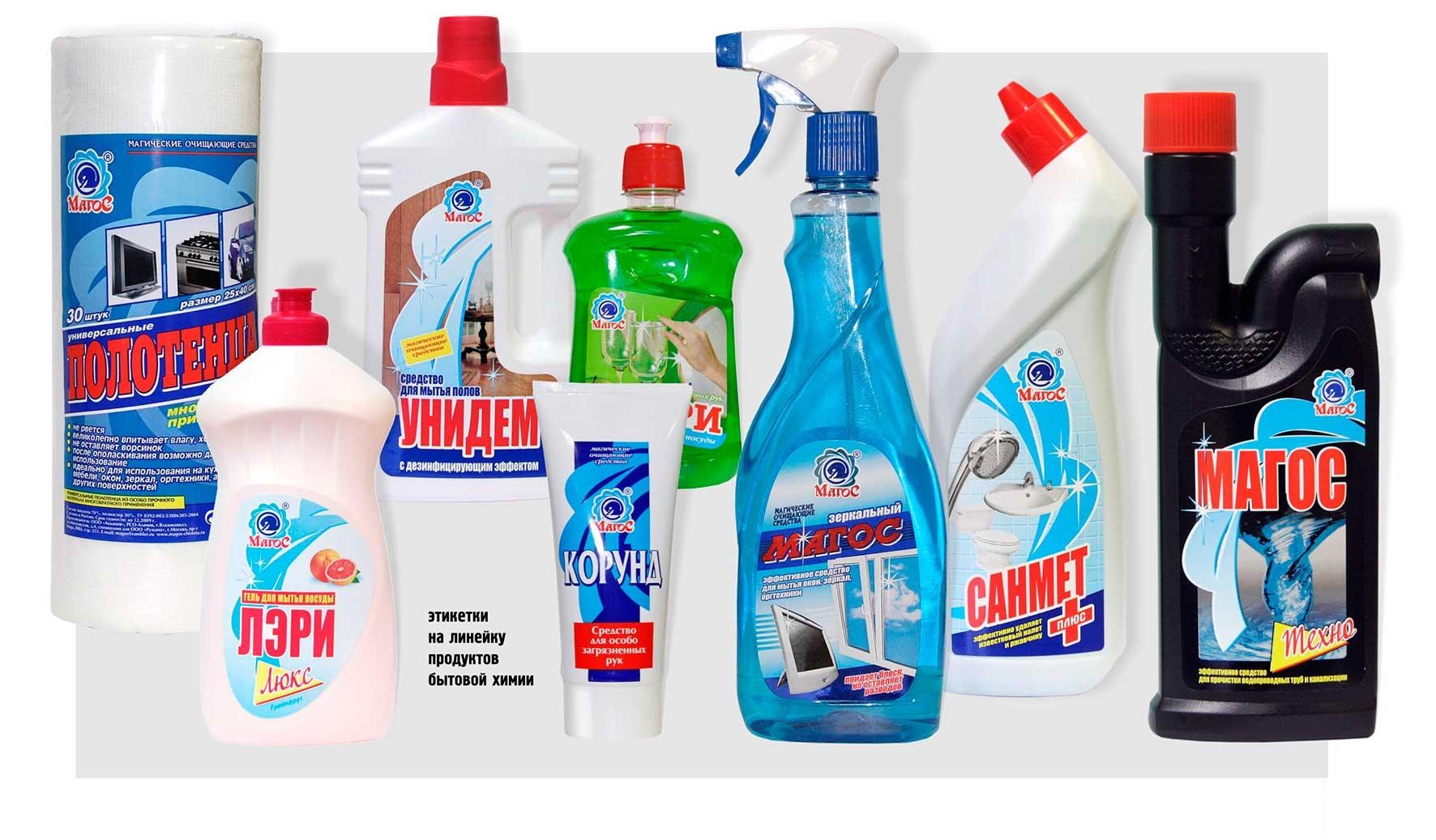 Прочие чистящие средства